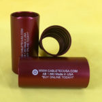 (ABA1.660)-1.25″-RED-Anodized-Press-On-Barbed-–-Aluminum-Coupler
