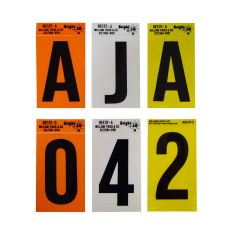Reflective Letters, Numbers and Kits